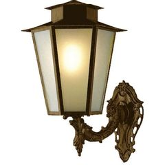 Arandela-Colonial-Ouro-Velho-56cm-Sextavada-L-9-B-Ideal