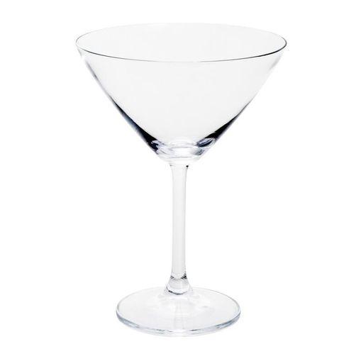Conjunto-de-6-Tacas-para-Martini-em-Vidro-280ml-Gastro-Bohemia