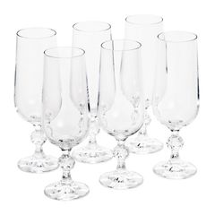 Conjunto-de-6-Tacas-para-Champagne-em-Vidro-Klaudie-Bohemia