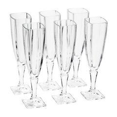 Conjunto-de-6-Tacas-para-Champagne-em-Vidro-140ml-Arezzo-Bohemia