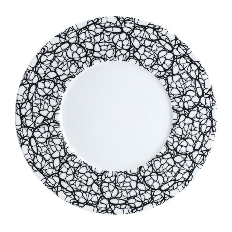Conjunto com 6 Pratos de Jantar em Porcelana Zen Wolff