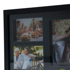Painel-de-Fotos-Preto-Collection-para-5-Fotos-Woodart