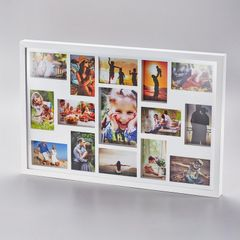 Painel-de-Fotos-Branco-Collection-para-15-Fotos-Woodart