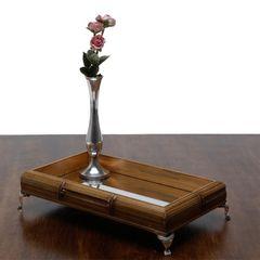 Bandeja-de-Madeira-com-Espelho-e-Pes-Prata-29cm-Perfil-Pequena-Woodart