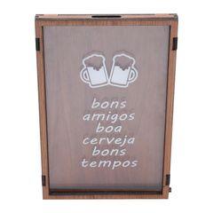Quadro-Porta-Tampinhas-em-Madeira-33cm-Bons-Amigos-Woodart