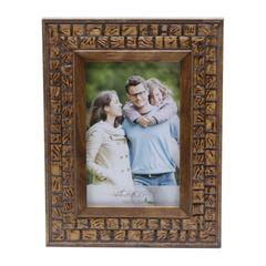 Porta-Retrato-Marrom-para-1-Foto-10x15-Coquinho--Woodart