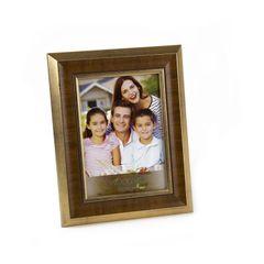 Porta-Retrato-Dourado-para-1-Foto-20x25-Chanfrado--Woodart