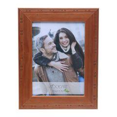Porta-Retrato-Marrom-Claro-para-1-Foto-10x15-Pirografado--Woodart