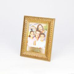 Porta-Retrato-Dourado-para-1-Foto-13x18-Rustic--Woodart