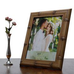 Porta-Retrato-Bege-para-1-Foto-20x25-Bambu-Woodart