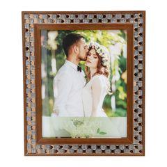 Porta-Retrato-Marrom-para-1-Foto-13x18-Diamond-Woodart