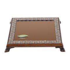 Bandeja-de-Madeira-com-Espelho-Marrom-19cm-Beta-Pequena-Woodart