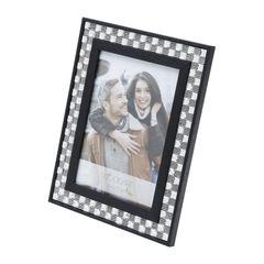 Porta-Retrato-Preto-para-1-Foto-10x15-Diamond-Woodart