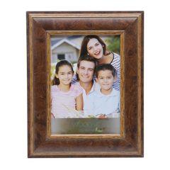 Porta-Retrato-Marrom-para-1-Foto-13x18-Marquesine-Woodart