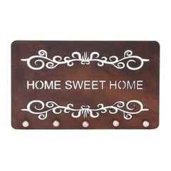 Porta-Chaves-em-Madeira-25cm-Sweet-Home-Quartzo-Woodart