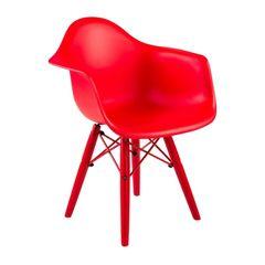Cadeira-Armshell-Infantil-Vermelha-ByHaus-Cadarmif-Vm