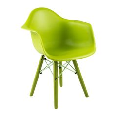 Cadeira-Armshell-Infantil-Verde-ByHaus-Cadarmif-Vd