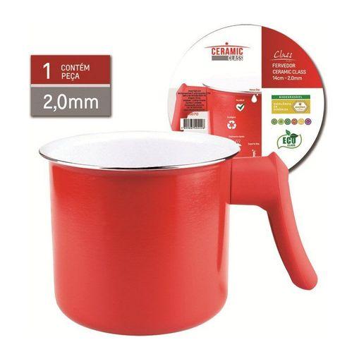 Fervedor-de-Ceramica-14cm-Vermelho-713-Class