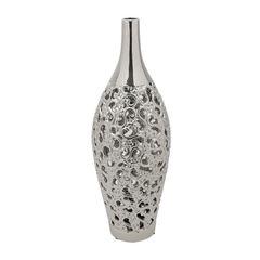 Vaso-de-Ceramica-43cm-Lancaster-Prata-Prestige