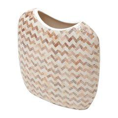Vaso-de-Ceramica-29cm-Delta-Bege-Prestige