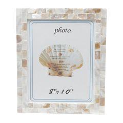 Porta-Retrato-Bege-para-1-Foto-10x15cm-Madreperola-Prestige
