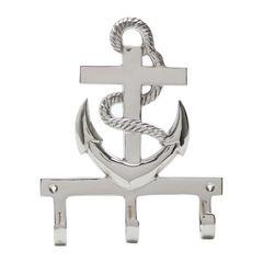Suporte-para-Chaves-em-Latao-11cm-Anchor-Prestige