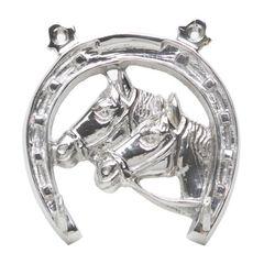 Suporte-para-Chaves-em-Latao-12cm-Horseshoe-Prestige