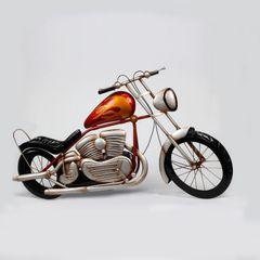 Quadro-Moto-78x46cm-Vermelho-Prestige