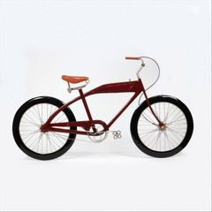 Quadro-Bicicleta-89x51cm-Vermelho-Prestige