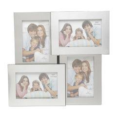 Porta-Retrato-Prata-para-4-Fotos-10x15cm-Loryn-Prestige