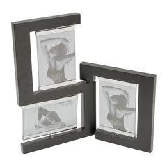 Porta-Retrato-Preto-para-3-Fotos-10x15cm-Icaro-Prestige
