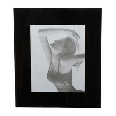 Porta-Retrato-Preto-para-1-Foto-10x15cm-Londres-Prestige