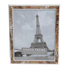 Porta-Retrato-Marrom-para-1-Foto-10x15cm-Clean-Prestige