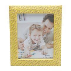 Porta-Retrato-Amarelo-para-1-Foto-20x25cm-Wall-Prestige