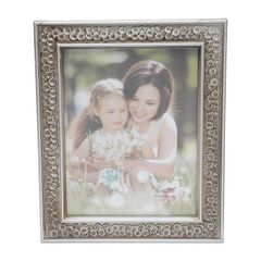 Porta-Retrato-Prata-para-1-Foto-10x15cm-Margarida-Prestige