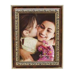 Porta-Retrato-Dourado-para-1-Foto-20x25cm-Tree-Prestige