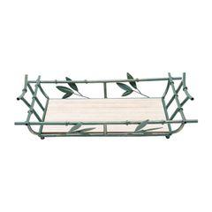 Bandeja-Retangular-de-Ferro-com-Espelho-46cm-Bambu-Prestige
