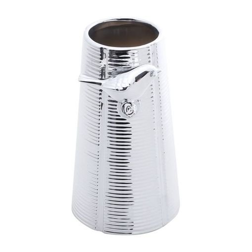 Vaso-de-Ceramica-Prata-19cm-Bird-Prestige