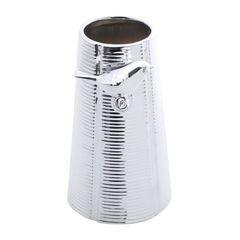 Vaso-de-Ceramica-Prata-14cm-Bird-Prestige