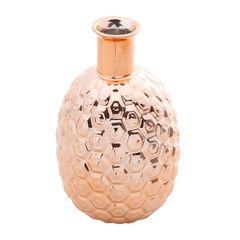 Vaso-de-Ceramica-Rose-20cm-Abacaxi-Prestige