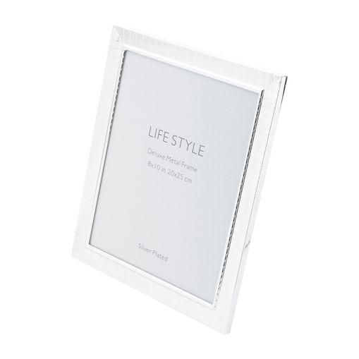 Porta-Retrato-Prata-para-1-Foto-20x25cm-Life-Prestige
