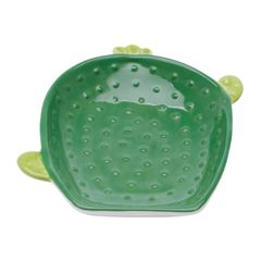 Centro-de-Mesa-em-Ceramica-Verde-26cm-Cactos-Prestige