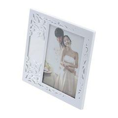 Porta-Retrato-Branco-para-1-Foto-13x18cm-Leaf-Prestige
