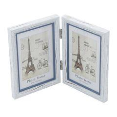 Porta-Retrato-Branco-para-1-Foto-10x15cm-Paris-Prestige