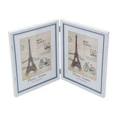 Porta-Retrato-Branco-para-1-Foto-13x18cm-Paris-Prestige