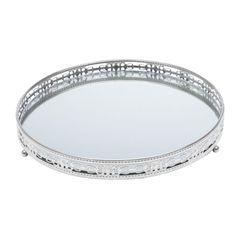 Bandeja-Redonda-de-Ferro-com-Espelho-Prata-25cm-Bunch-Prestige