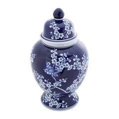 Potiche-de-Porcelana-345cm-com-Tampa-Flores-II-Azul-Prestige