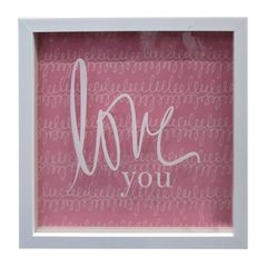 Quadro-com-Moldura-Love-You-Rosa-Urban