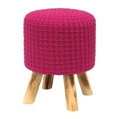 Puff-de-Madeira-com-Crochet-Rosa-Urban