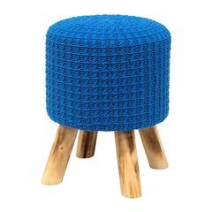 Puff-de-Madeira-com-Crochet-Azul-Urban